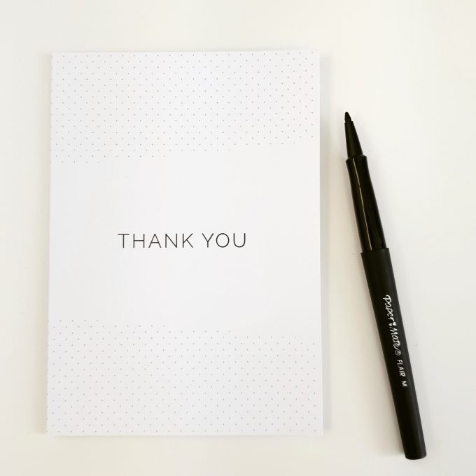 The Power of a Thank You