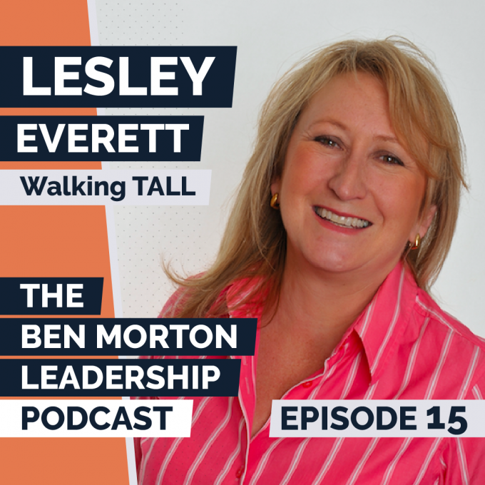 Episode #015 – Lesley Everett. Founder and CEO, Walking Tall