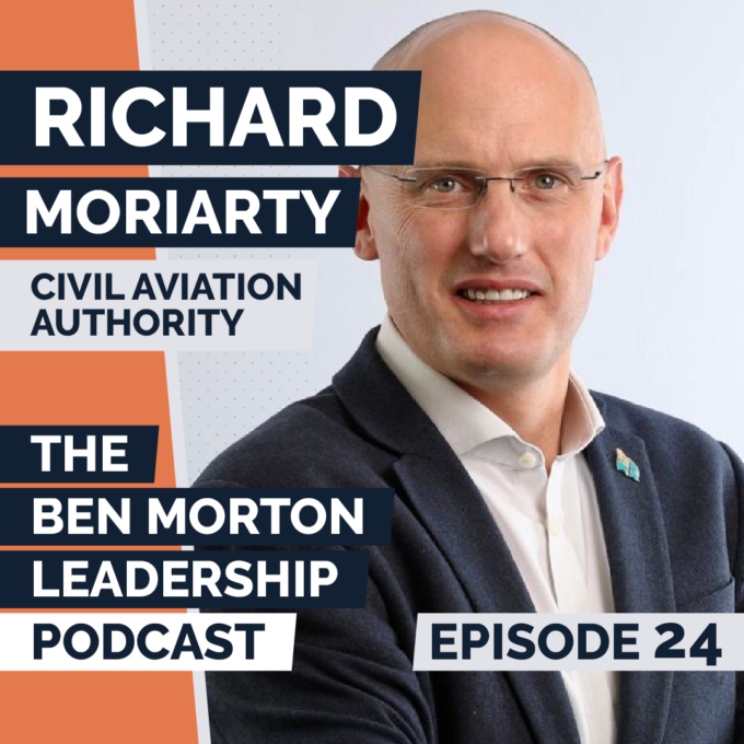 Ep #024 – Richard Moriarty. CEO, Civil Aviation Authority