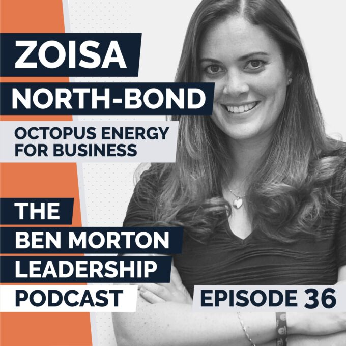 Ep #036 – Zoisa North-Bond. CEO, Energy for Business