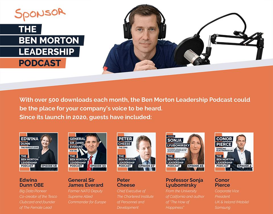 Sponsor the Ben Morton Podcast